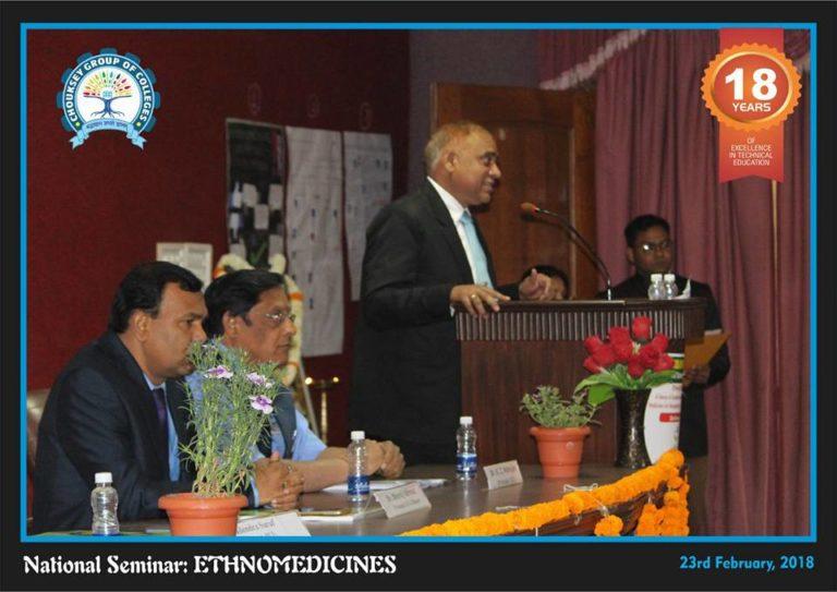 ICMR Sponsored One Day National Seminar organised by School of Pharmacy, Chouksey Engineering College, Bilaspur (C.G.)