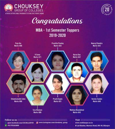 MBA 1st