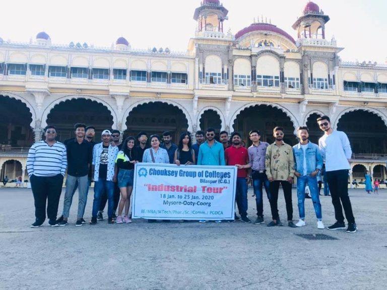 Mysore palace visit (educational tour 2020)